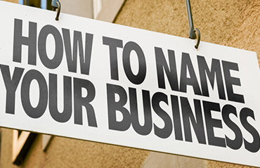 Name your business in no time